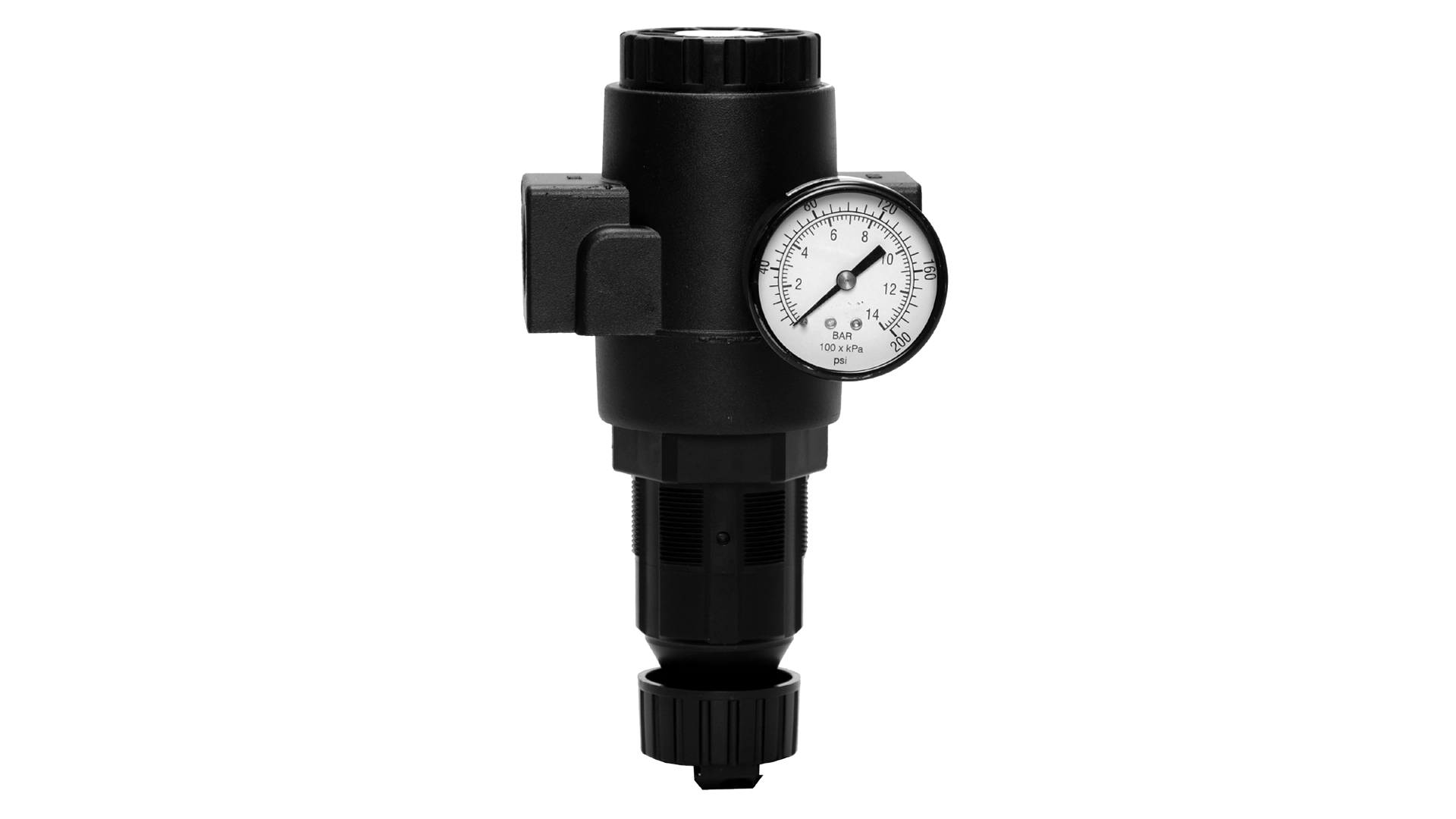 Regulator inline high capacity